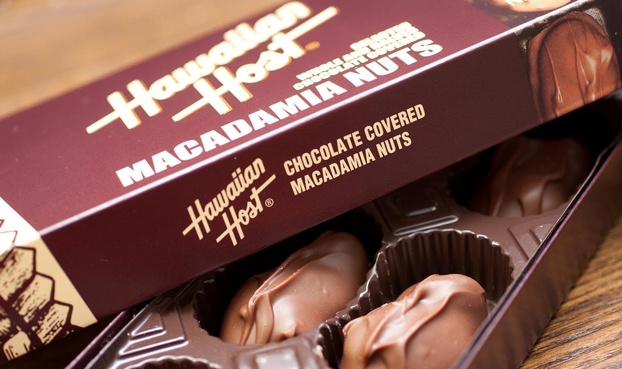 ハワイアンホースト、マカダミアナッツチョコレート