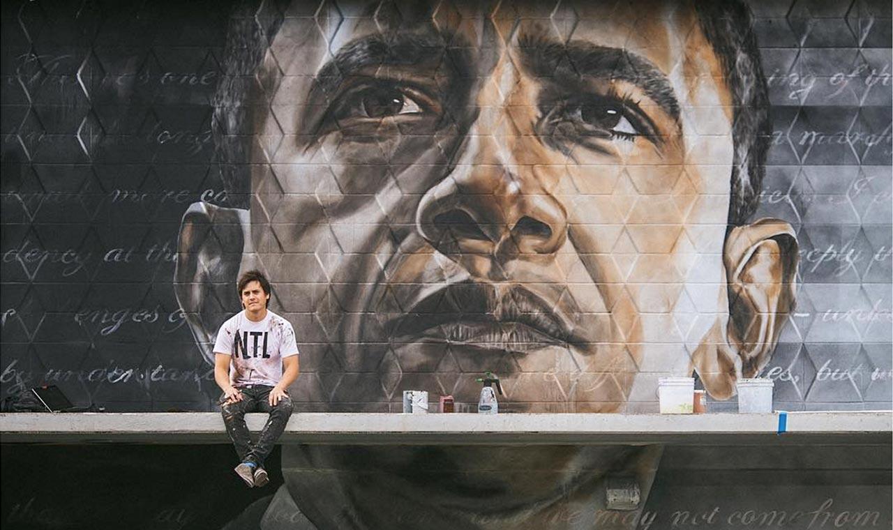 カカアコにオバマ大統領の壁画が登場、人種的調和のメッセージを訴えるのアイキャッチ画像