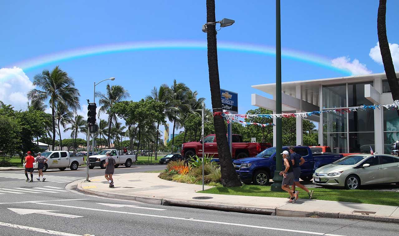ハワイの虹、今年は豊作?8月降雨量 過去20年の最高記録を更新のアイキャッチ画像