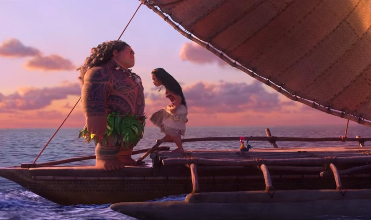 ディズニー映画「モアナと伝説の海」第2弾 予告編ムービーが公開のアイキャッチ画像