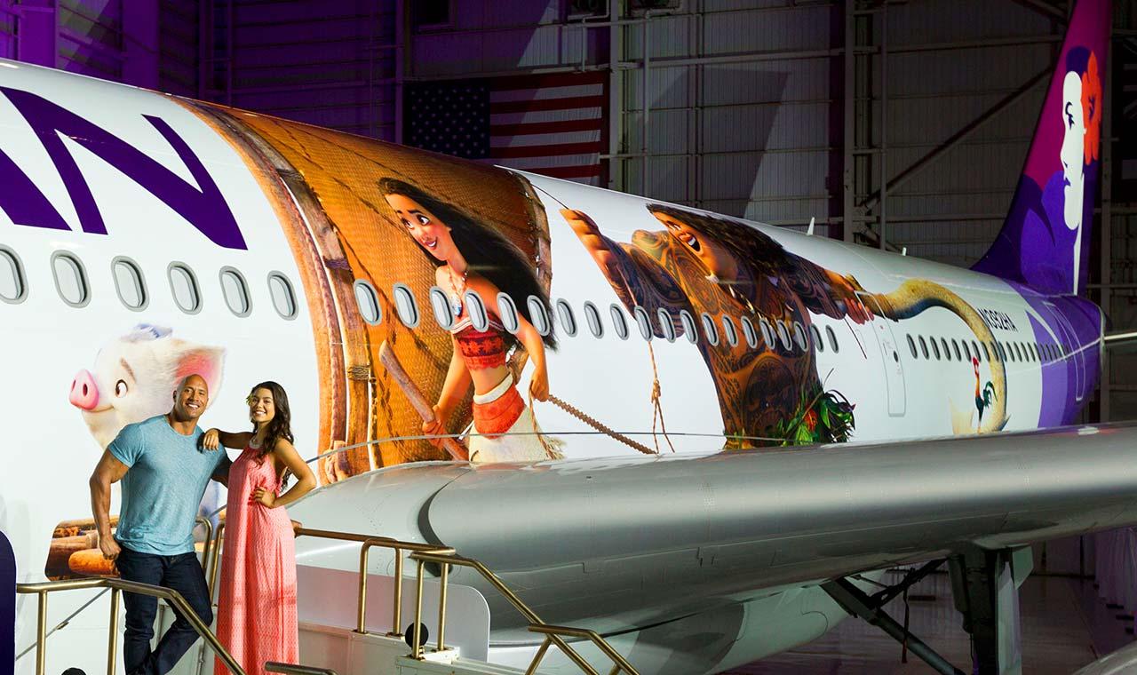 ハワイアン航空が「モアナと伝説の海」とタイアップ、限定グッズも販売のアイキャッチ画像