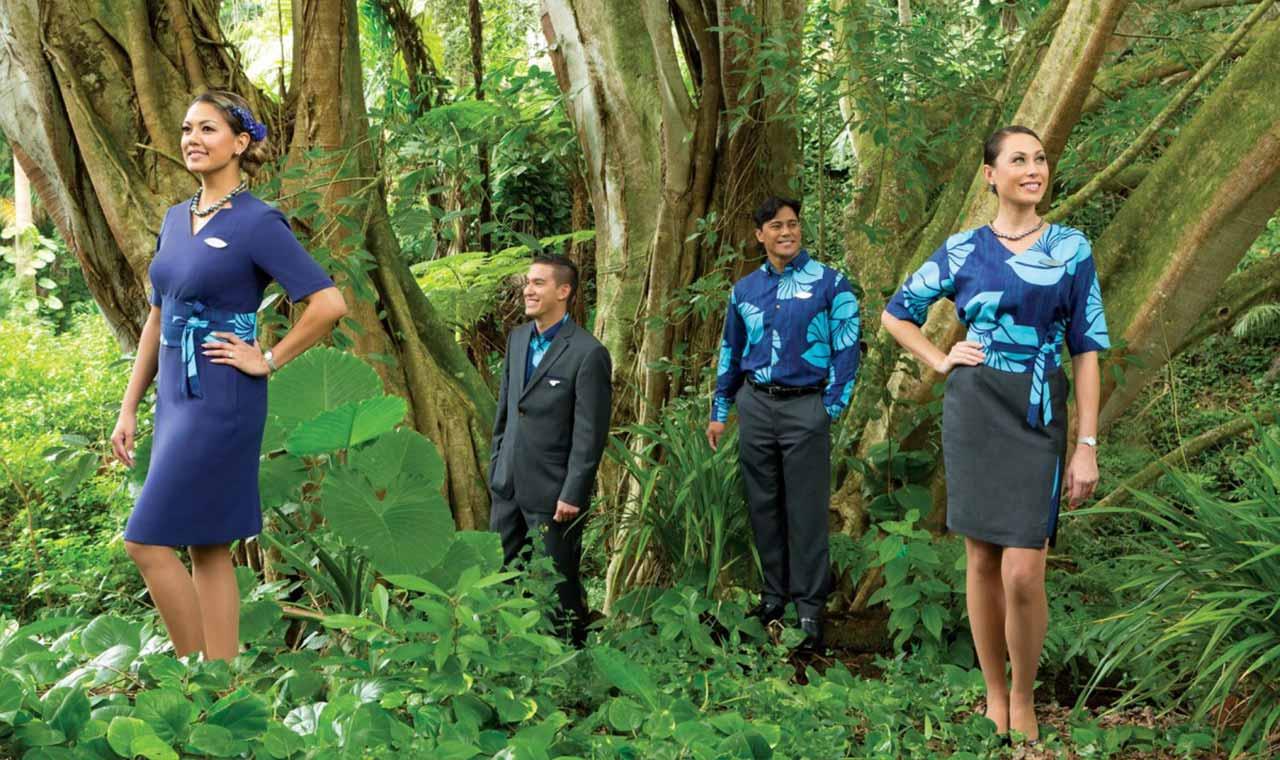 ハワイアン航空が新制服を披露、ハワイ文化を象徴したデザインにのアイキャッチ画像